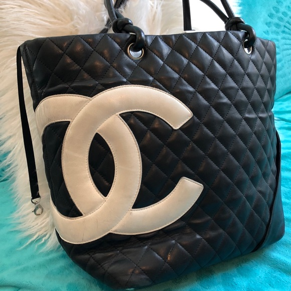 053340840 CHANEL Handbags - CHANEL Cambon Ligne Quilted tote bag